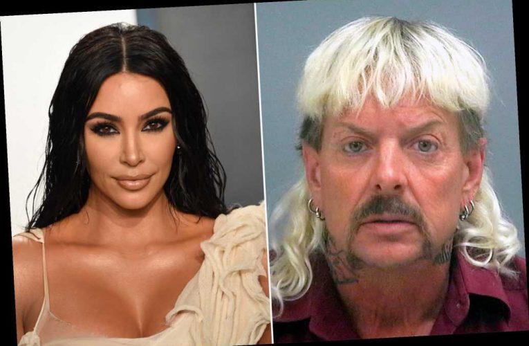 Joe Exotic asks Kim Kardashian to help get him presidential pardon
