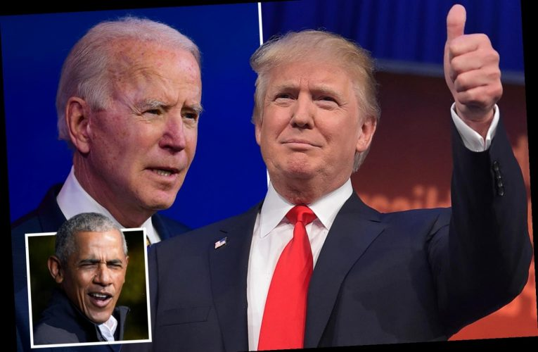 Trump boasts he was named most admired man and says he beat Biden as election was 'rigged with fake votes'