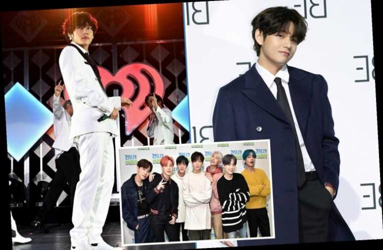 How old is Kim Tae-hyung and when did V join BTS?