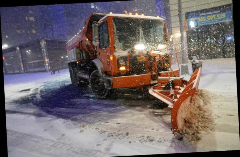 Winter Storm Gail dumped more snow on NYC than in all of last winter