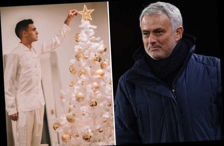 Sergio Reguilon reveals Tottenham boss Mourinho gave him a suckling pig on Christmas as he knew he was all alone