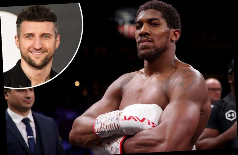 Anthony Joshua can only beat Tyson Fury by KO, claims Carl Froch as he breaks down mouthwatering world title fight