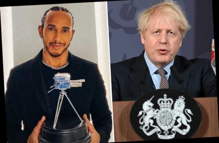 Lewis Hamilton to be knighted after Boris Johnson places F1 star on 'Diplomatic and Overseas List' to avoid tax row