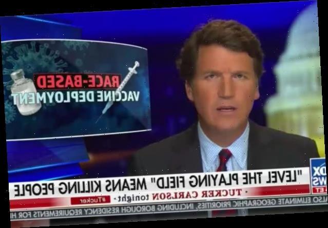 Tucker Carlson Goes Full Anti-Vax, Says COVID Vaccine Is 'Eugenics' (Video)