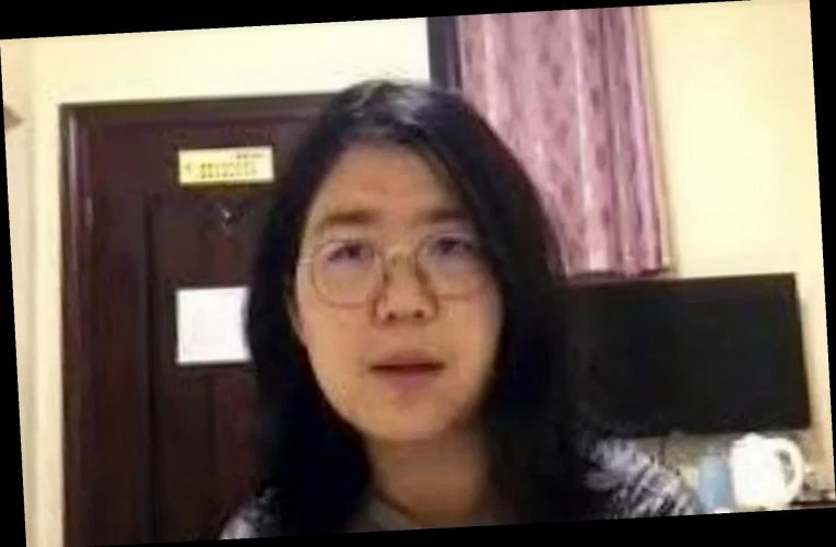 Journalist arrested for exposing Wuhan Covid 'cover-up' being 'force-fed and restrained' in Shanghai prison