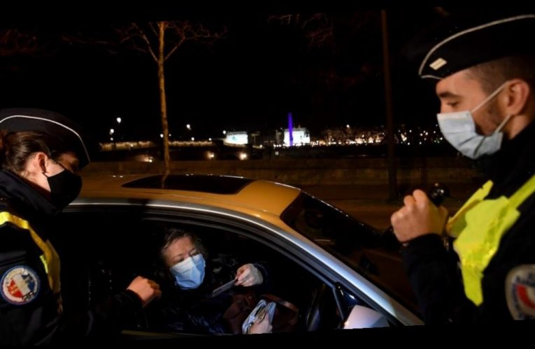 France is deploying 100,000 police to break up New Year's Eve parties and enforce an 8 p.m. curfew to limit to spread of COVID-19
