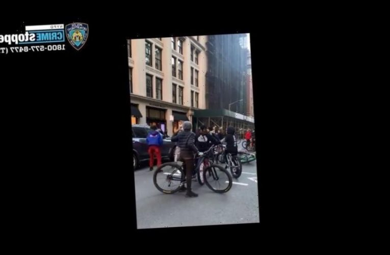 De Blasio calls NYC bike attack on SUV 'absolutely unacceptable,' says there will be 'consequences'