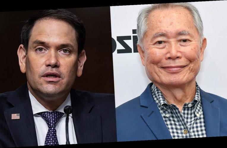 'Star Trek' actor George Takei hopes Marco Rubio suffers allergic reaction to coronavirus vaccine