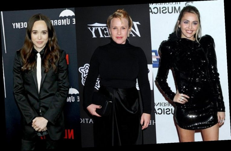 Miley Cyrus, Patricia Arquette and More Support Ellen Page After Transgender Reveal