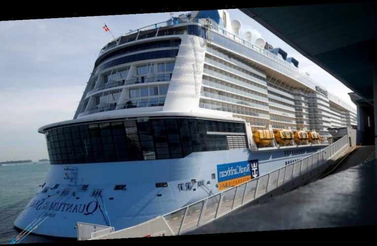 A Singapore 'cruise to nowhere' was forced to return to port after an 83-year-old passenger tested positive for COVID-19, leaving 1,680 guests stuck in their cabins until further notice