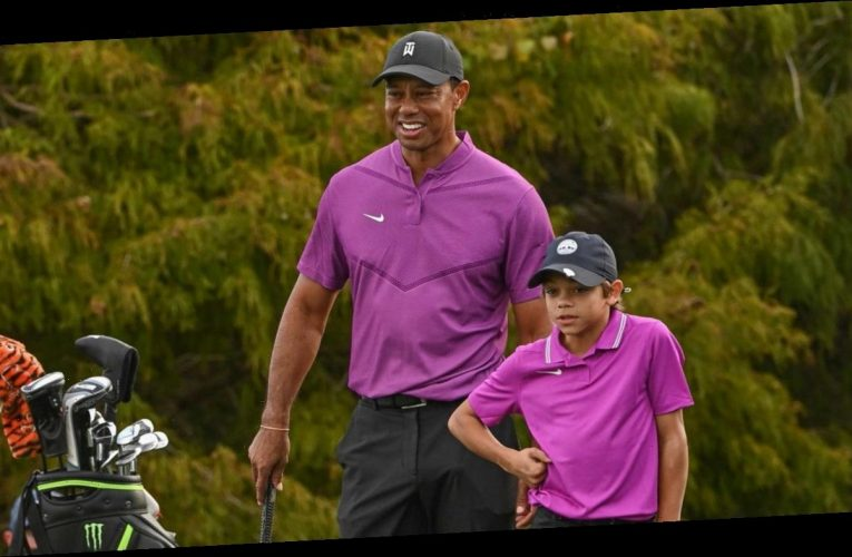 Tiger Woods Beams Over Son Charlie's Performance at PNC Championship