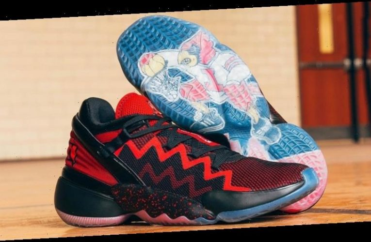 """Donovan Mitchell Honors His Alma Mater With This adidas D.O.N. Issue #2 """"Louisville"""" Colorway"""
