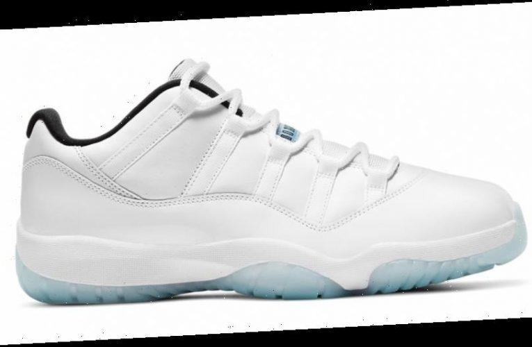 """Air Jordan 11 Low to Release In Familiar """"Legend Blue"""" Color Scheme"""