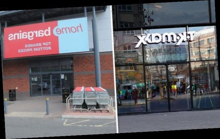 Are TK MAXX and Home Bargains open in lockdown?