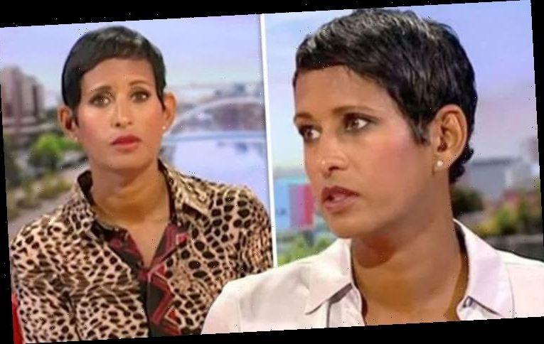 Naga Munchetty: BBC Breakfast host causes concern after welling up 'Something in my eye'
