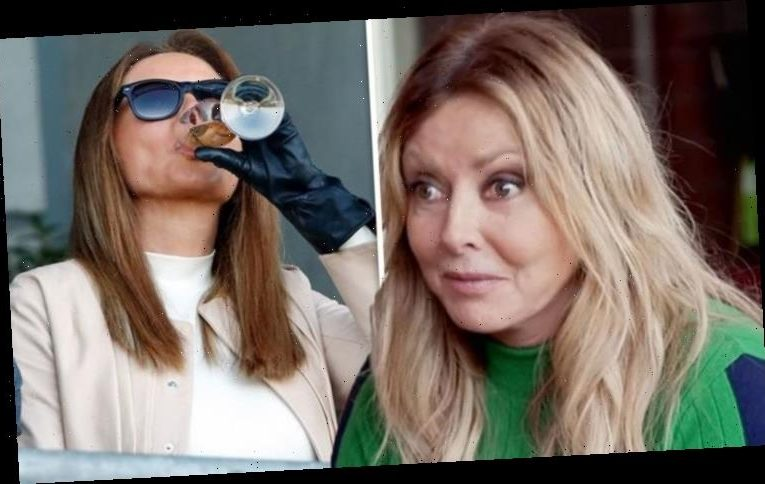 Carol Vorderman admits 'filming for new show didn't go well' after tequila-fuelled night