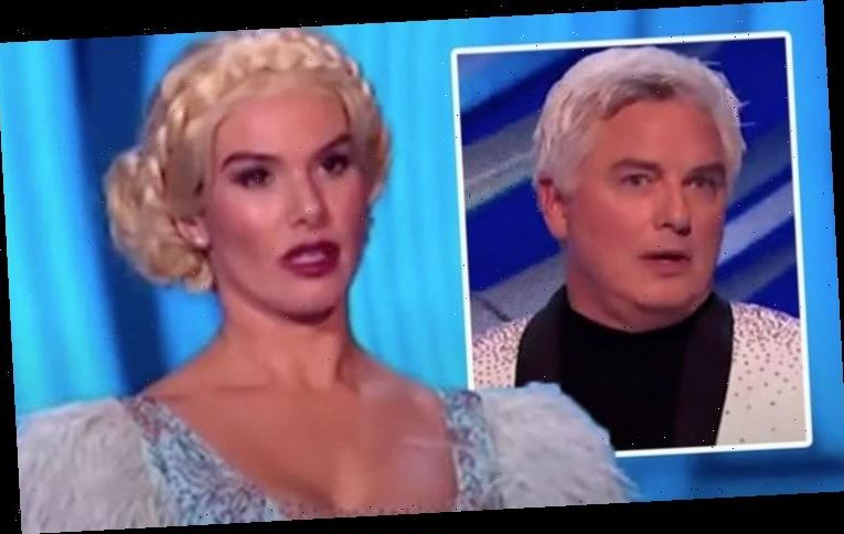 Dancing on Ice fans outraged with judges after 'undermarking' Rebekah Vardy's performance