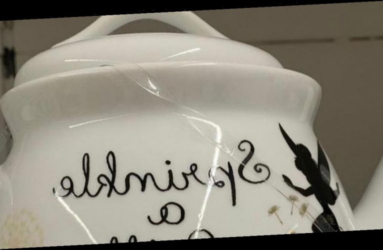 Asda customers spot awkward spelling blunder on 'adorable' Disney teapot