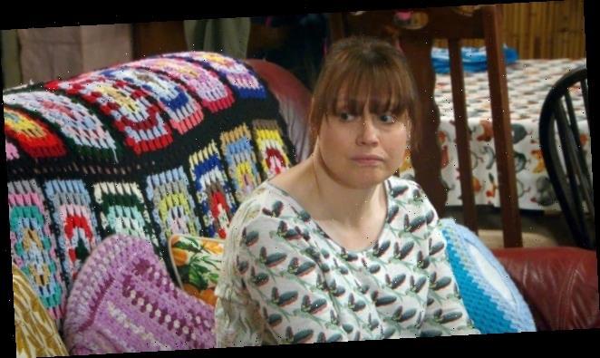 Emmerdale fans stunned by Lydia Hart's 'whacked off' joke