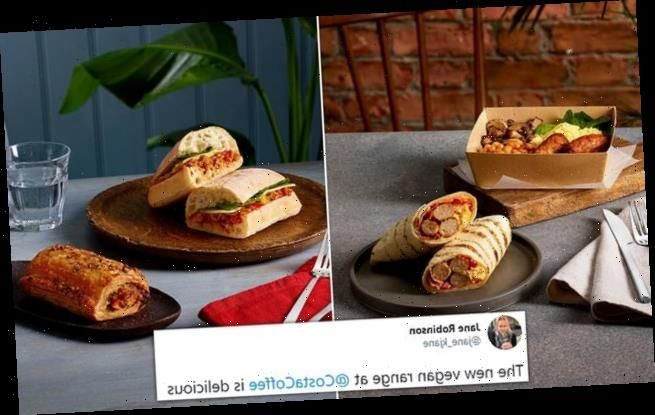 Costa delights fans with their new menu for 2021