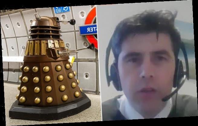 Tory MP Scott Mann sounds like DALEK in House of Commons debate