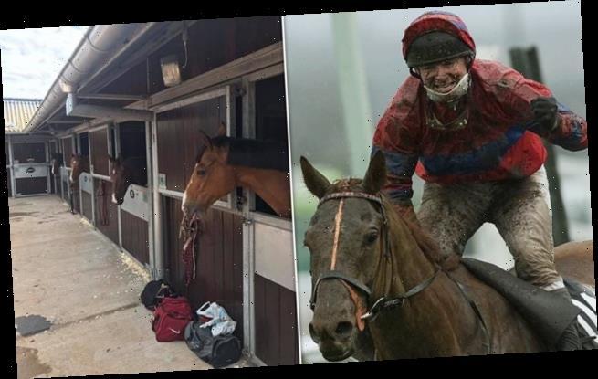 Grand National-winning jockey Richard Guest kicked out of caravan home