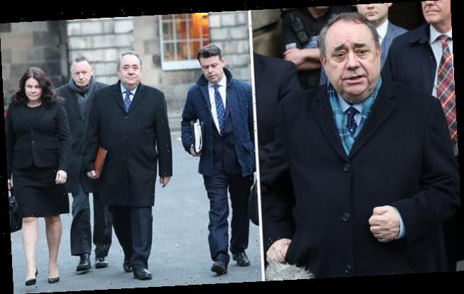 Salmond concerned about criminal prosecution over committee appearance