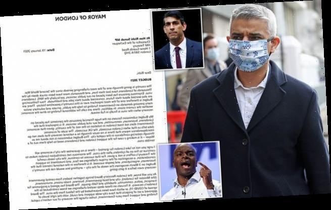 Sadiq Khan is blasted for demanding more money for London