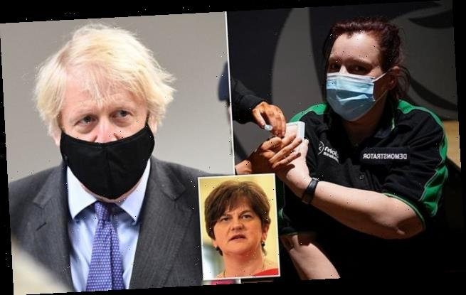 Foster urges Johnson to send surplus vaccines to Republic of Ireland