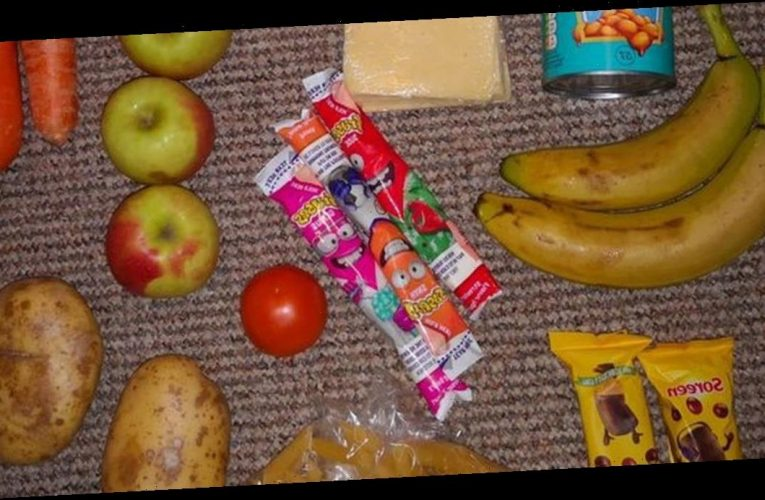Mum slams free school meals parcel & Marcus Rashford agrees it's 'unacceptable'
