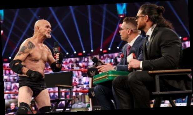 WWE cult hero Gillberg makes shock return on RAW after four-year absence and just months after suffering heart attack