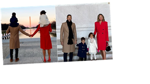 Chrissy Teigen and Her Kids Are Damn Proud to Be Americans — You Can Tell by Their Coats