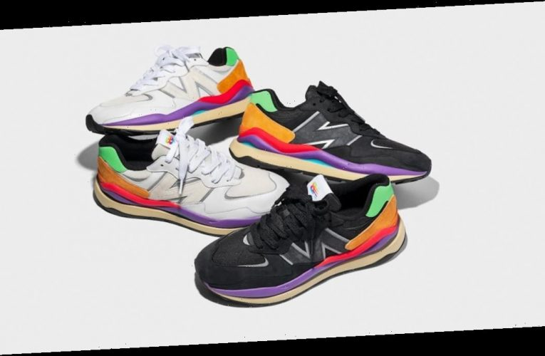 New Balance's Latest Rainbow-Detailed Sneakers Are Making Us Oh So Happy