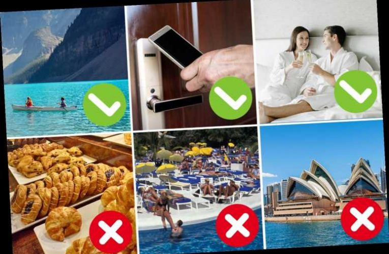 How your holiday will change in 2021 – with fewer hotel buffets but free hotel rooms