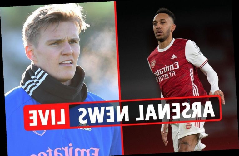 7am Arsenal transfer news LIVE: Partey PASSES fitness test, Aubameyang LATEST, Odegaard 'wants permanent deal'
