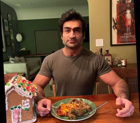 Kumail Nanjiani is still shredded & chiseled, and people are mad about that