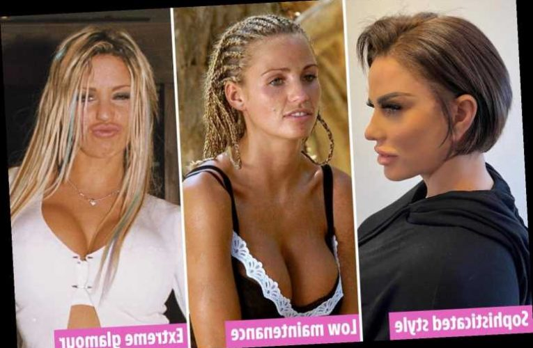 How Katie Price's dramatic hair transformations mirror her biggest life events – and prove she's turning it around