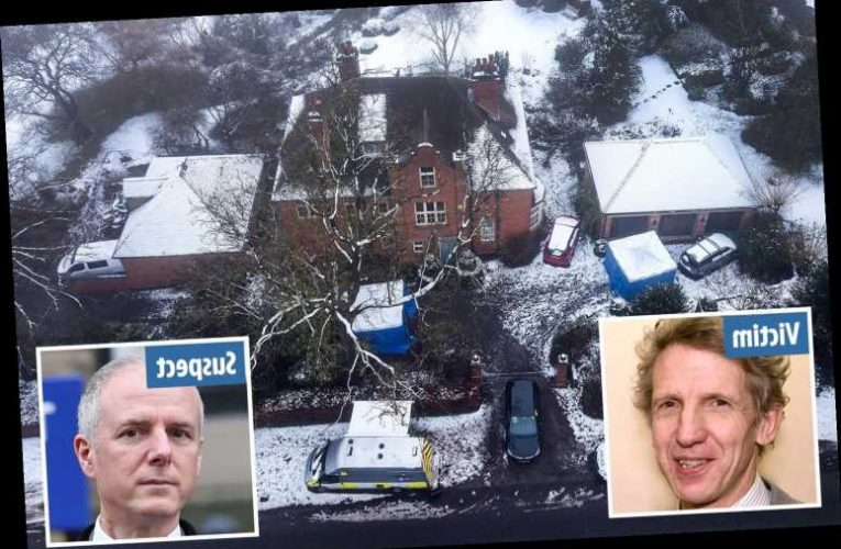 Top plastic surgeon, 55, charged with attempted murder after fellow doctor, 65, left fighting for life with knife wounds