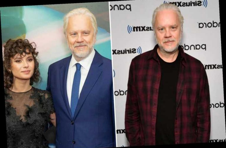 Tim Robbins, 62, files for divorce from his wife Gratiela Brancusi, 30, after 'secretly marrying her'