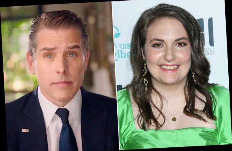 Lena Dunham trolled after fantasizing about being Hunter Biden's wife