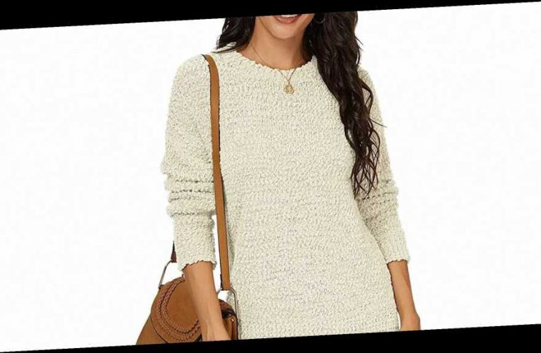 This Fabulously Fuzzy Sweater Looks Like It's From a Trendy Boutique