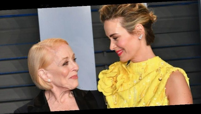 """Sarah Paulson """"Can't Stop, Won't Stop"""" Gushing About Holland Taylor"""