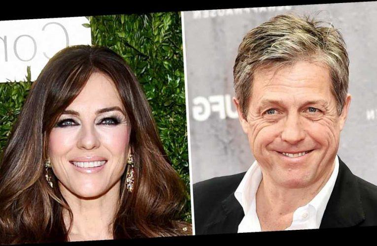 Hugh Grant Jokes About Costarring With Ex Elizabeth Hurley in 'Paddington 3'