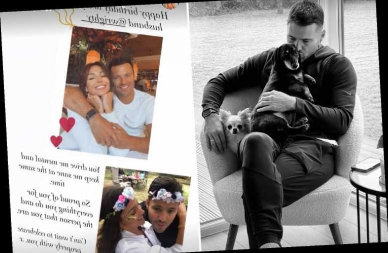 Michelle Keegan wishes husband Mark Wright happy 34th birthday with unseen family photos