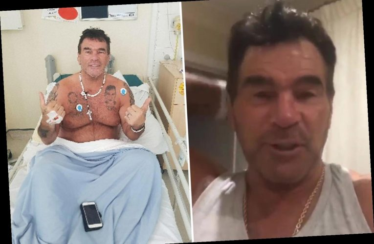 Paddy Doherty out of hospital after brutal coronavirus battle that left him 'hours from death'