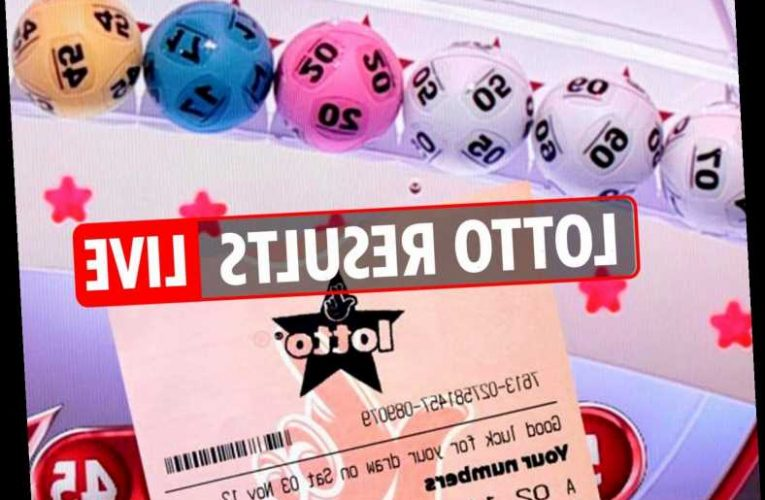 Lotto results LIVE: National Lottery numbers and Thunderball draw tonight, January 27, 2020