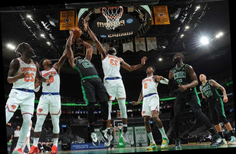 Knicks destroy Celtics in stunning defensive performance