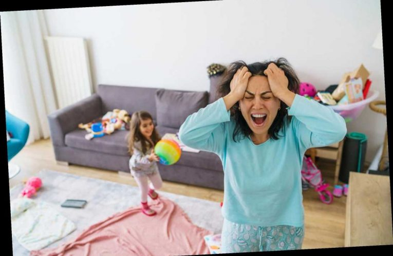 Mums are feeling overwhelmed by chores as they battle housework and parenting in lockdown, study finds