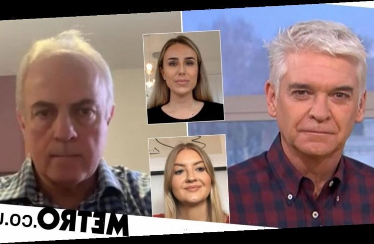 Phillip Schofield has dig at police after two women were fined on exercise trip