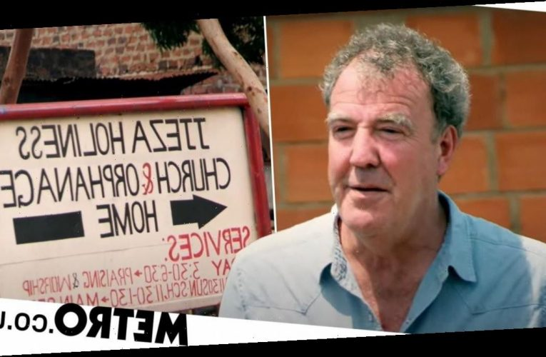 Jeremy Clarkson has a church founded in his honour after visiting Ugandan town